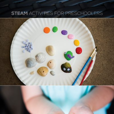 Seashell Painting for Preschoolers – STEAM Activity