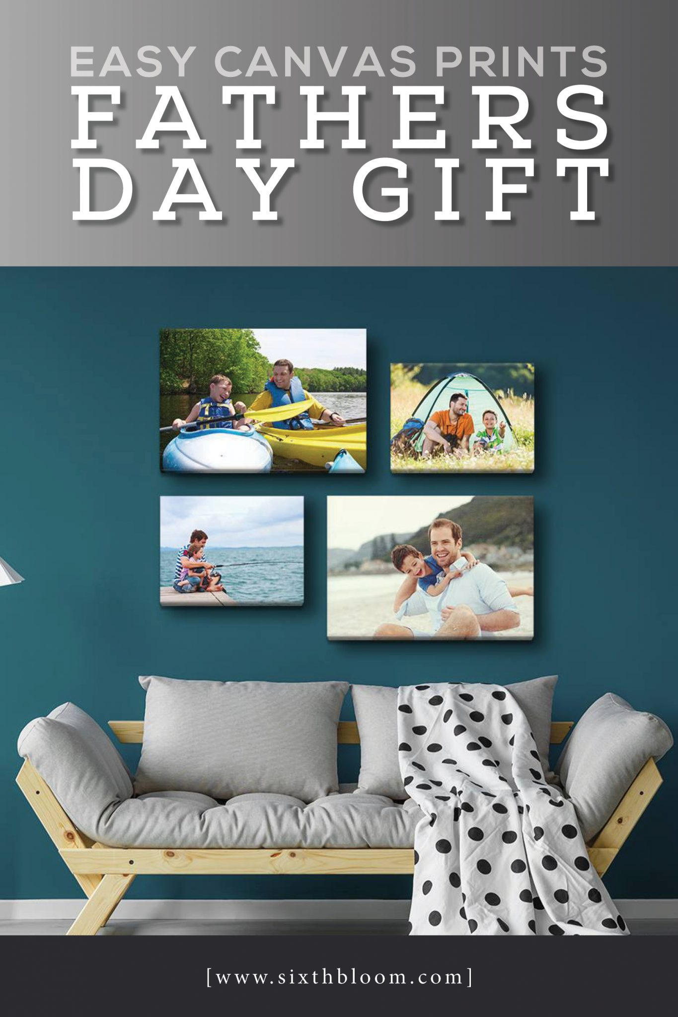 easy canvas prints fathers day