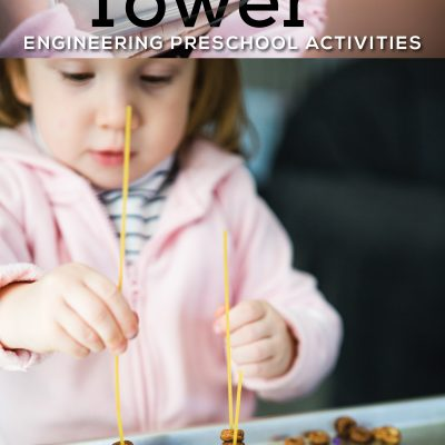 Cheerio Towers – Engineering Preschool Activities