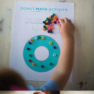 Donut Math – Math Activities for Preschoolers