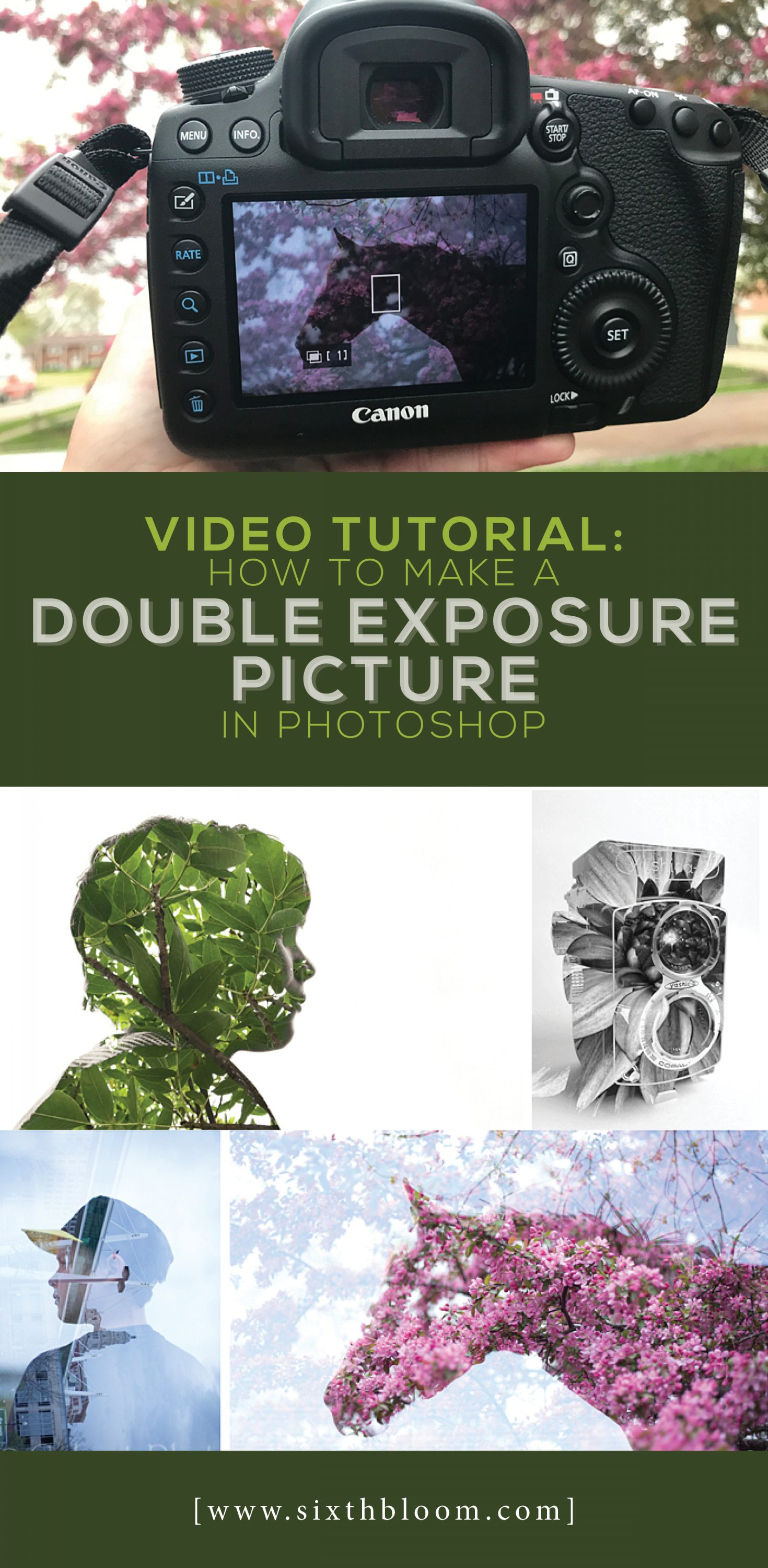 How to Make a Double Exposure Picture in Photoshop