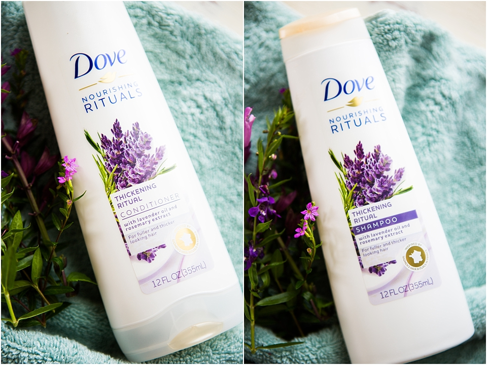 dove thickening shampoo and conditioner