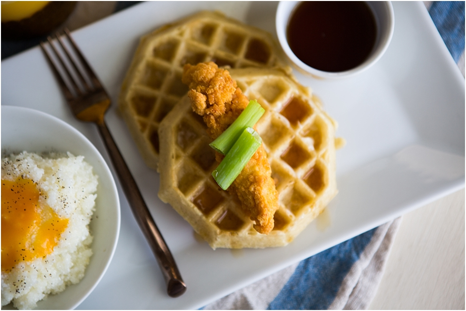 Easy Southern Fried Chicken & Waffles