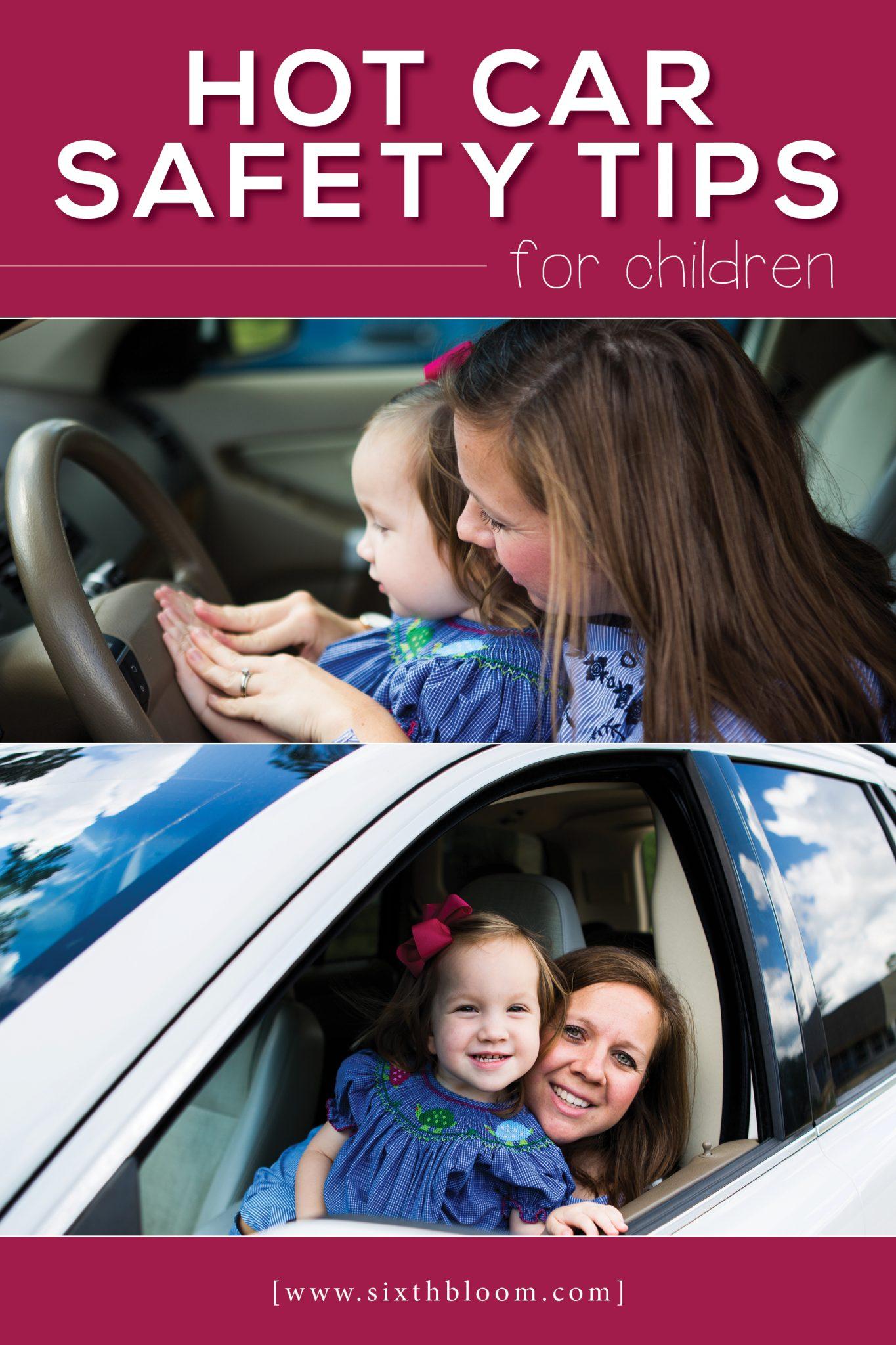 hot car safety tips for children