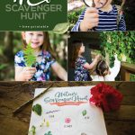 Kids Nature Scavenger Hunt Free Printable