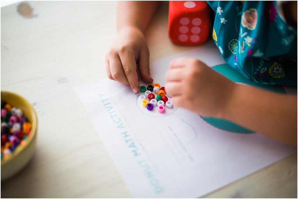 math activity for home