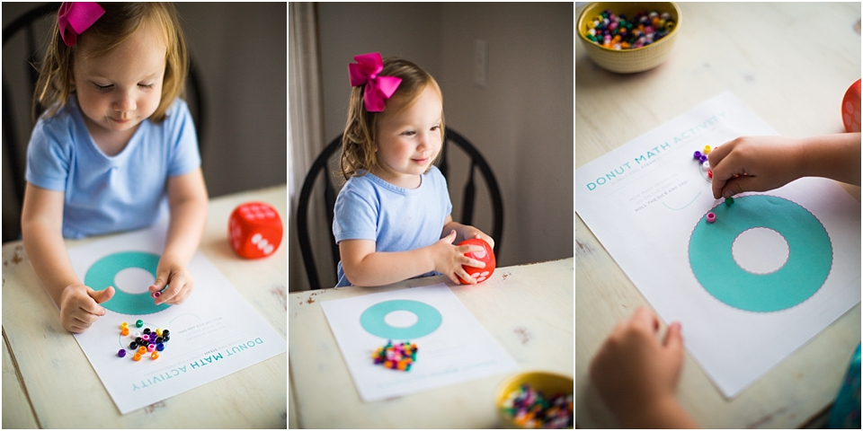 preschool math activities for home
