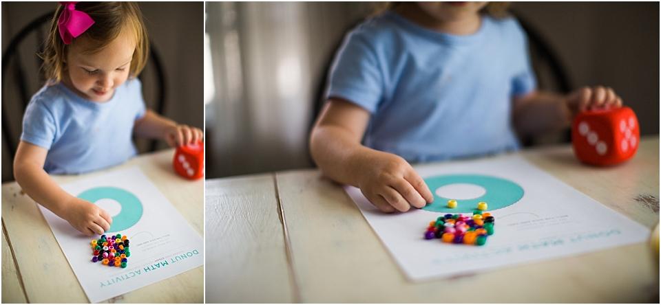 preschool math activity printable
