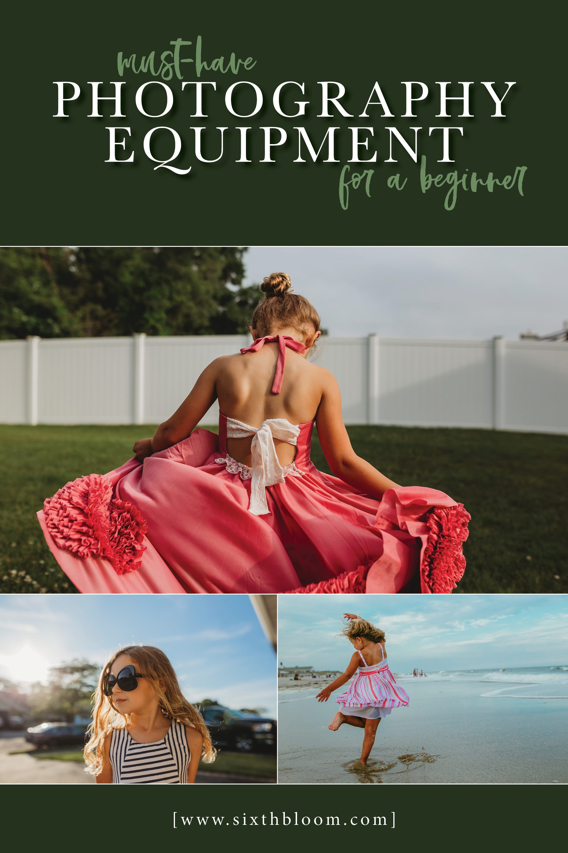Photography Equipment for a Beginner