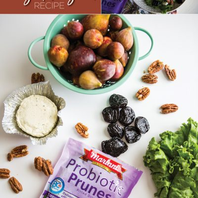 Fig Prune Summer Salad Recipe