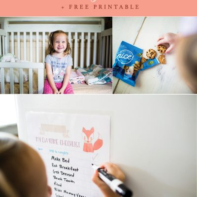 Preschool Morning Routine – Free Printable