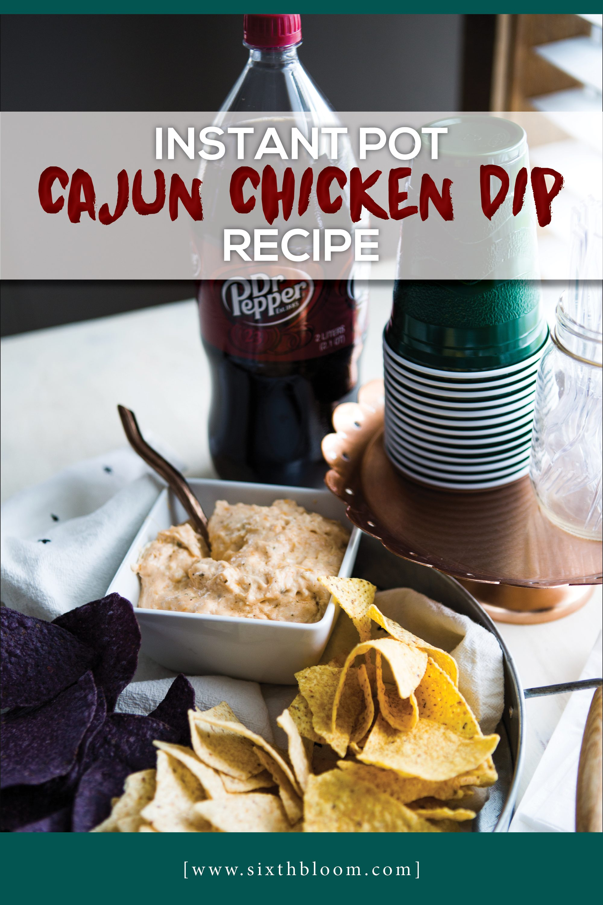 cajun chicken instant pot recipe