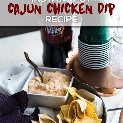 Instant Pot Cajun Chicken Dip Recipe