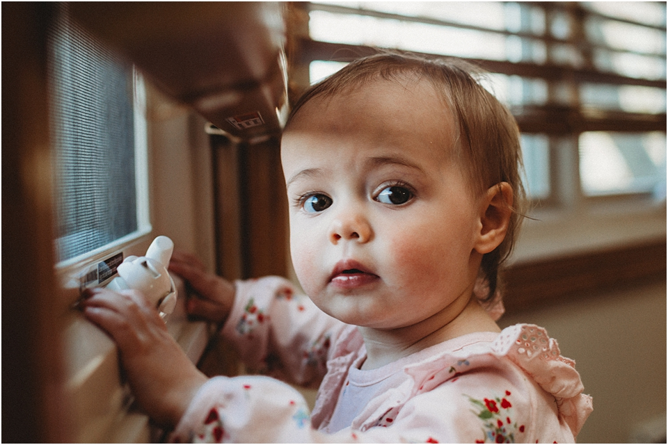 How to Photograph a One Year Old