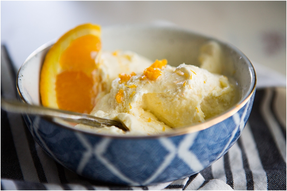 creamy orange ice cream recipe