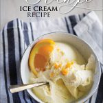 Orange Ice Cream Recipe