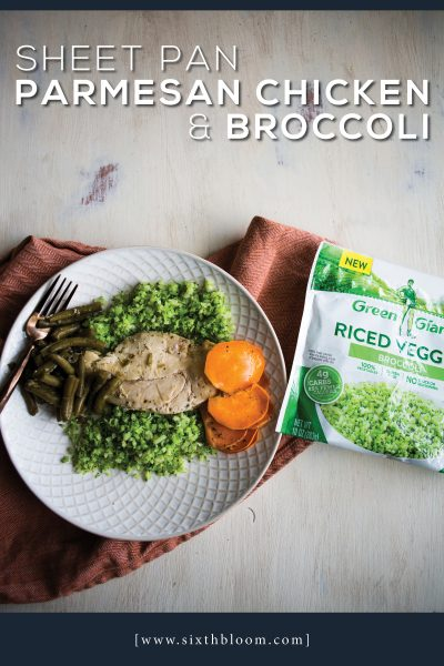 Sheet Pan Parmesan Chicken & Broccoli Recipe
