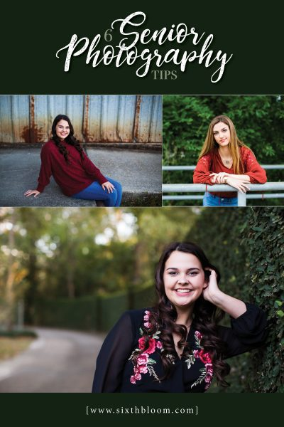 6 Senior Photography Tips