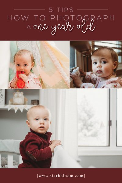 5 Tips How to Photograph a One Year Old