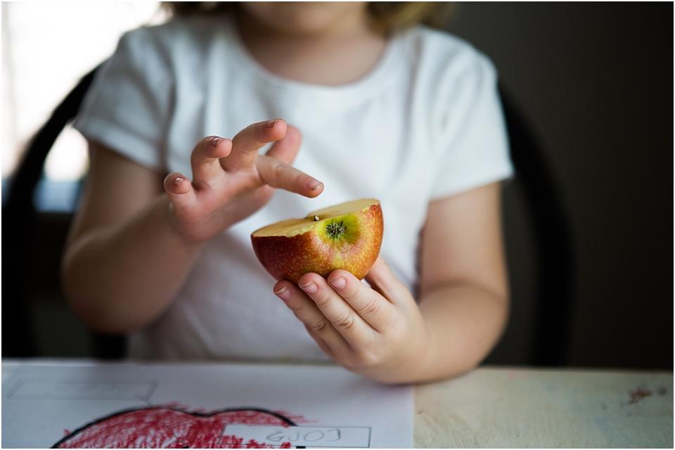 apple science for preschool