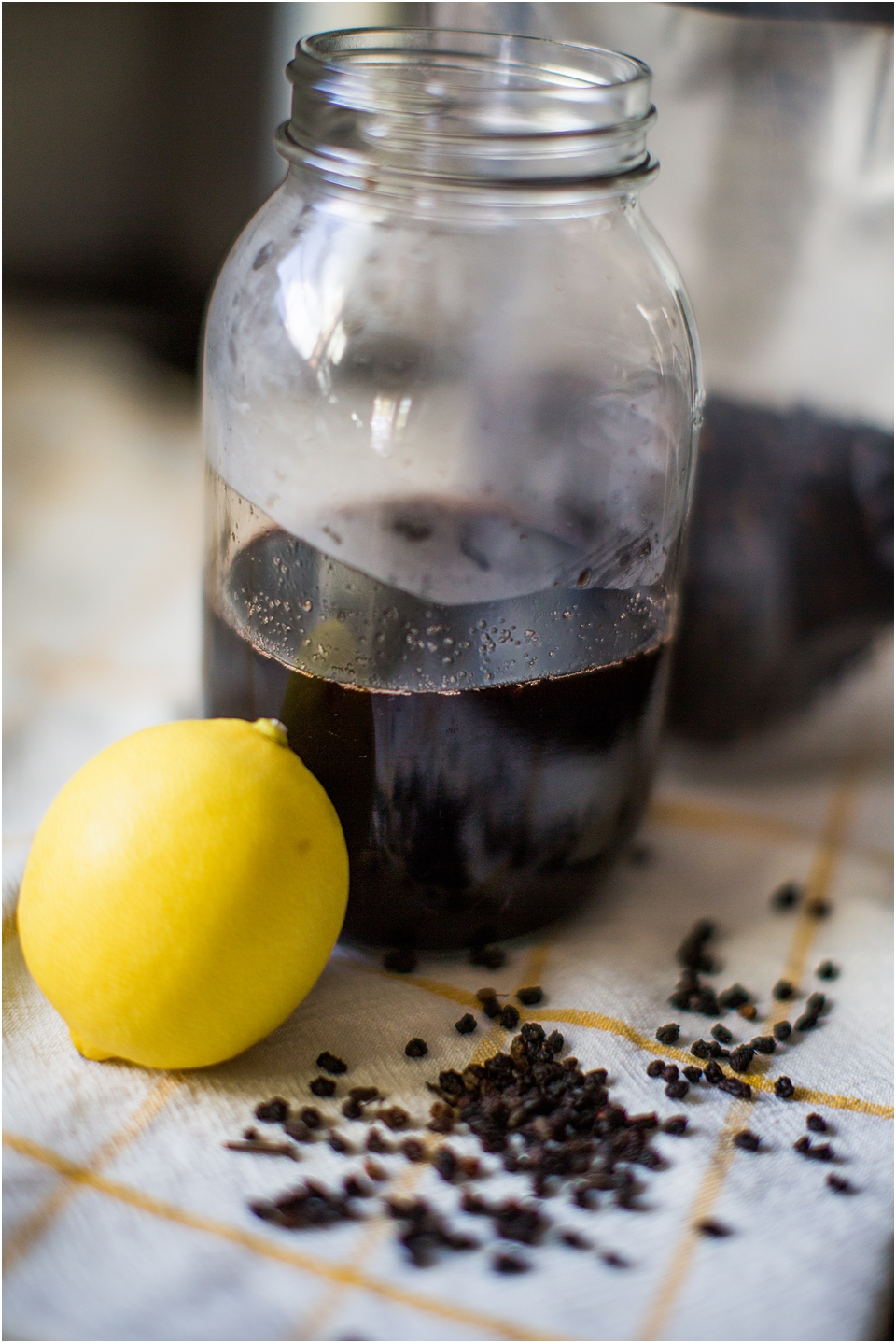 elderberry cough syrup recipe