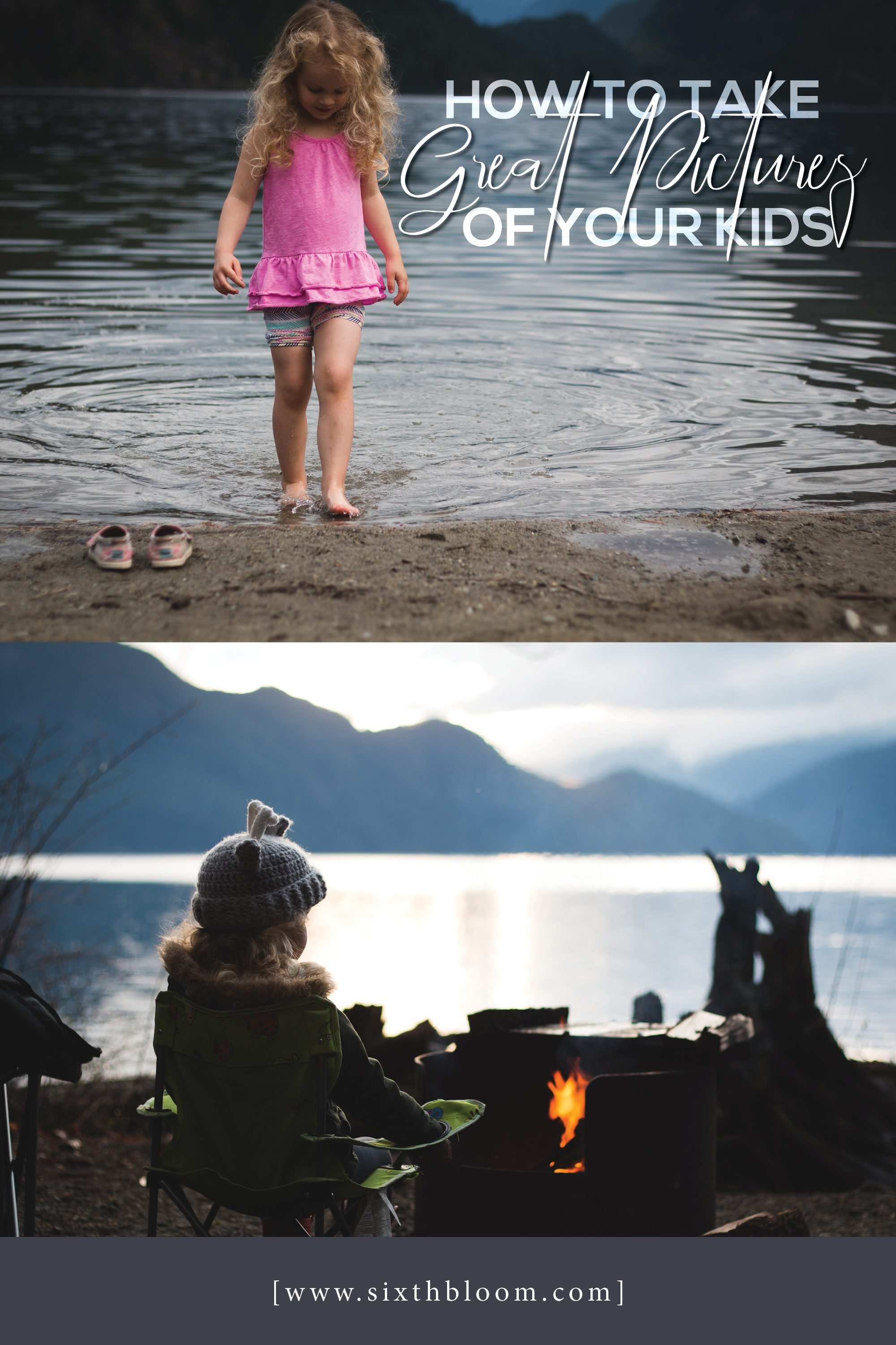 how to take great pictures of kids