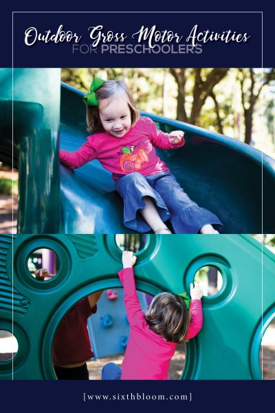 24 Outdoor Gross Motor Activities for Preschoolers