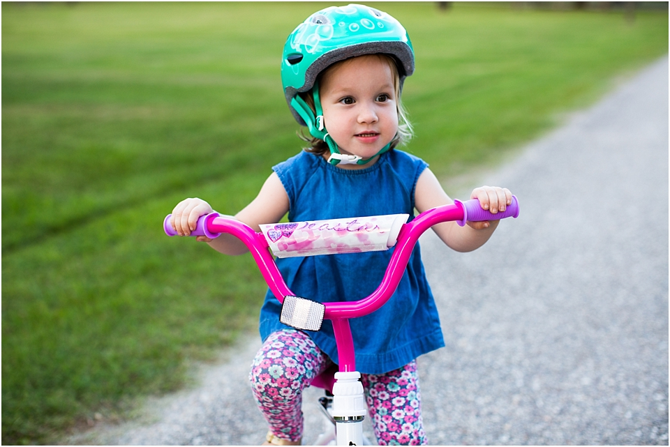 how to teach a 3 year old to ride a bike