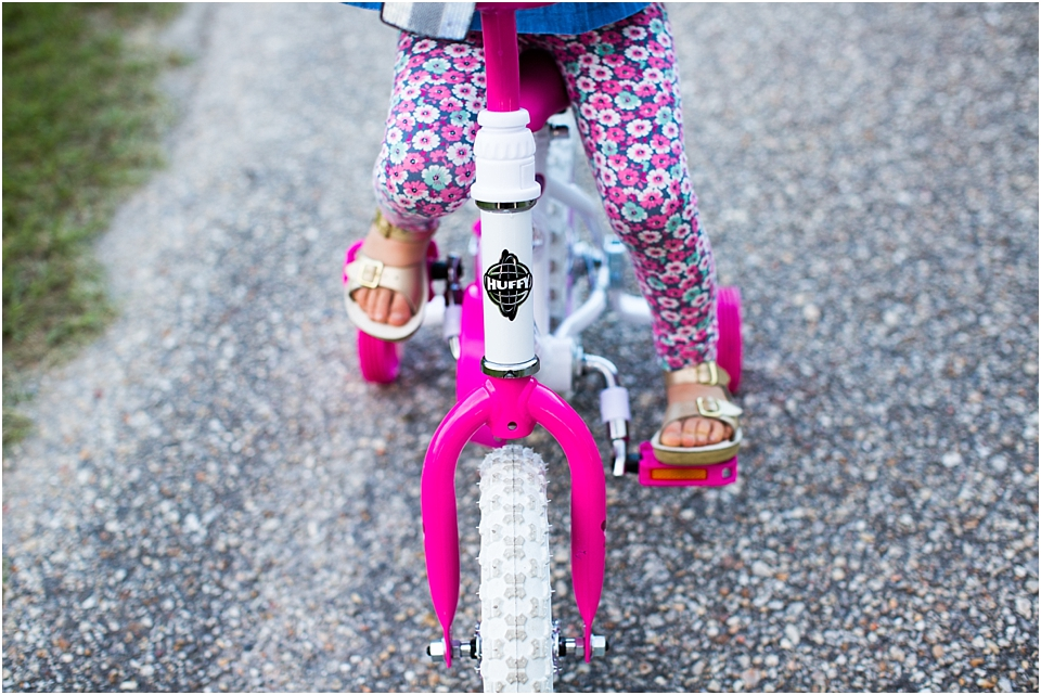 Teaching Toddlers to Ride a Bike