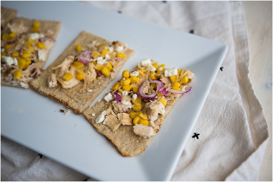 Chicken Feta Flatbread Recipe