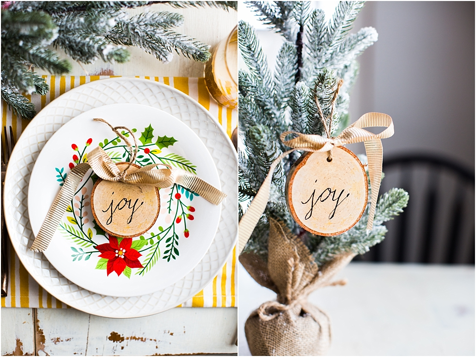 Hand Lettered Ornaments