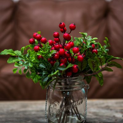 Holiday Centerpieces with Nearly Natural