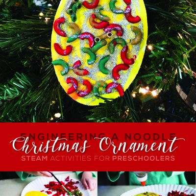 Engineering a Noodle Christmas Ornament | STEAM Activity