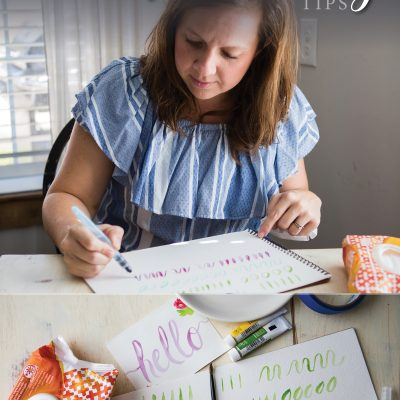 101: Watercolor Handlettering Tips