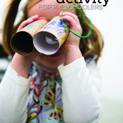 Binoculars – Engineering Activity for Preschoolers