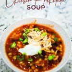 Instant Pot Chicken Enchilada Soup