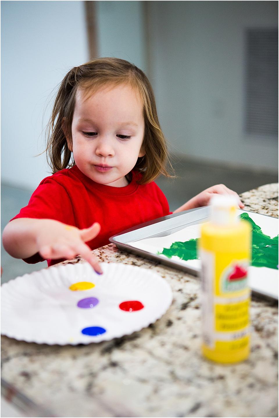 Easy Preschool Christmas craft