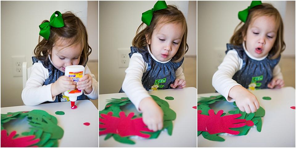 christmas STEAM activity preschool