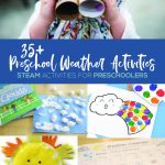preschool weather activities