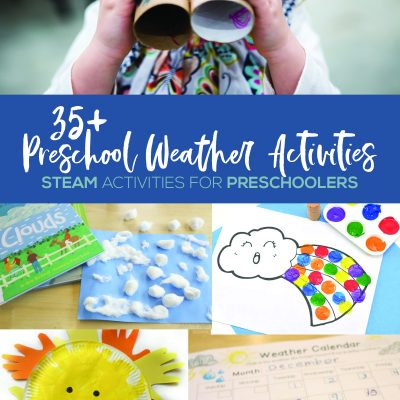35+ Preschool Weather Activities