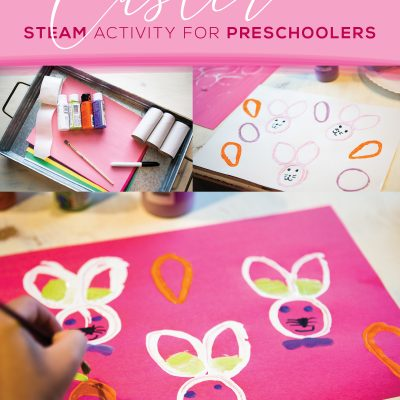 Easter STEAM Activity for Preschoolers