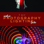 DIY photography lighting tricks