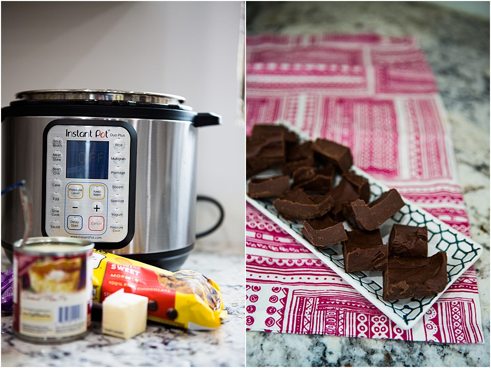 Instant Pot Fudge Recipe