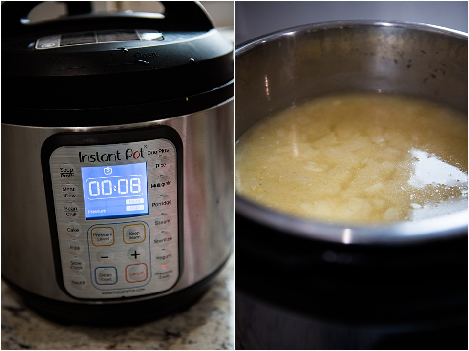 Potato Soup Instant Pot