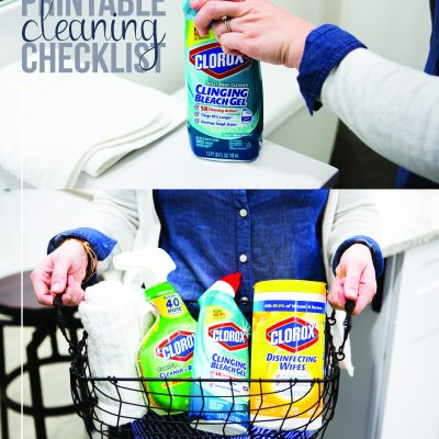 Free Printable Cleaning Checklist – Spring Cleaning