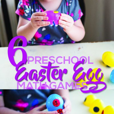 6 Preschool Easter Egg Math Games