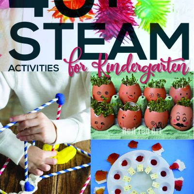 40+ STEAM Activities for Kindergarten