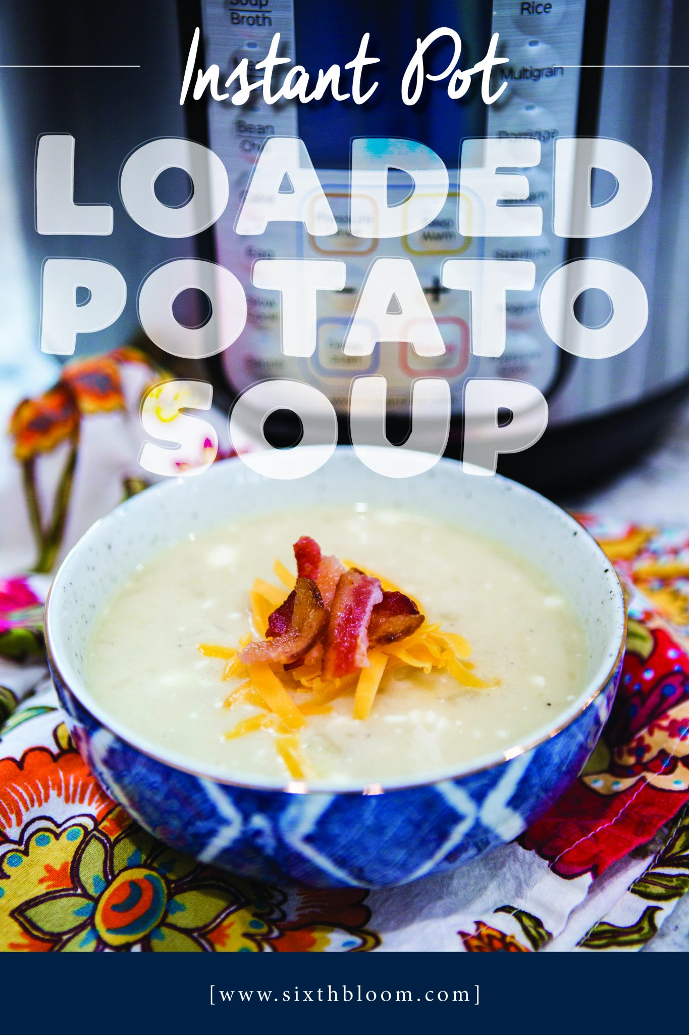 Potato Soup in Instant Pot