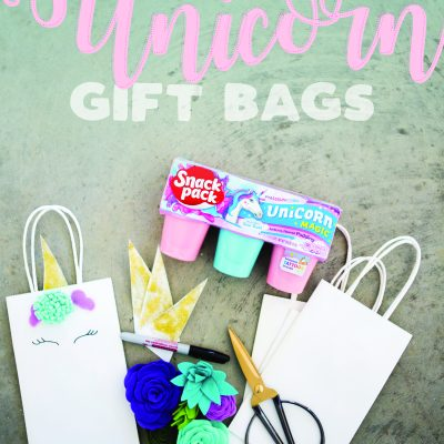 DIY Unicorn Gift Bags