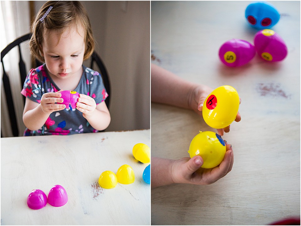 Preschool Easter Egg Math Game